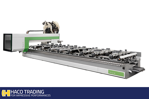 Nieuw CNC-bewerkingscenters - Haco Trading LY-04
